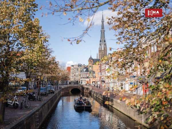 Thành phố Leeuwarden thành phố khi du học Hà Lan