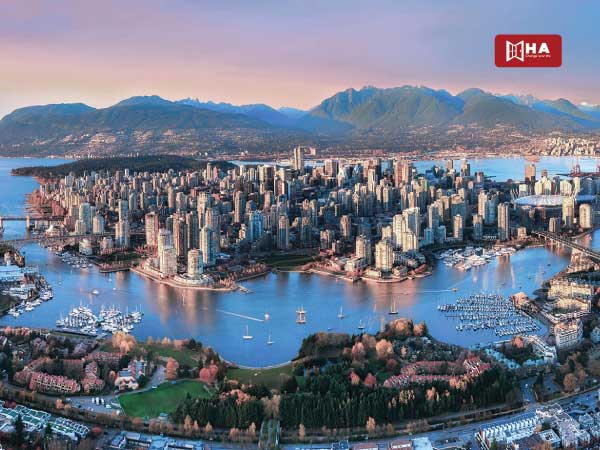 Vùng thứ 3: Tỉnh bang British Columbia
