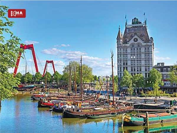 Thành phố Rotterdam thành phố khi du học Hà Lan