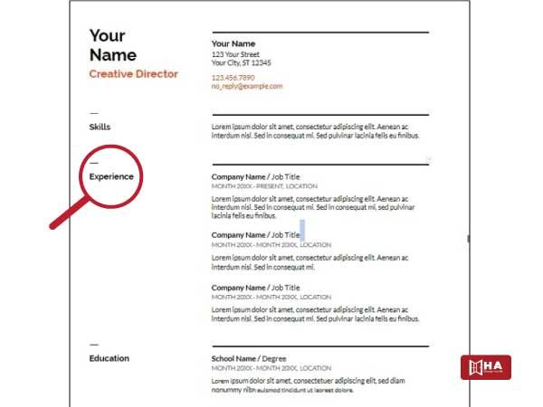 Kinh nghiệm làm việc cách viết resume xin việc tại canada