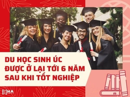 Du học sinh Úc được ở lại tới 6 năm sau khi tốt nghiệp