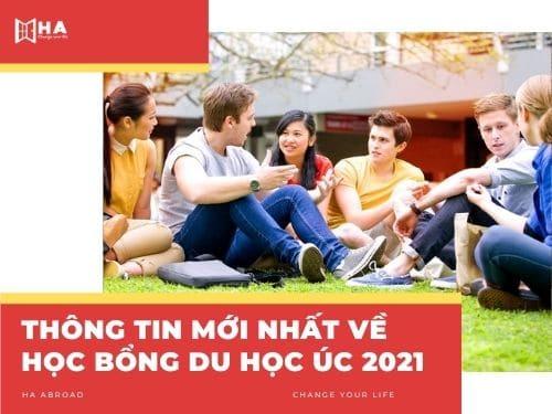 Thông tin mới nhất về học bổng du học Úc 2021
