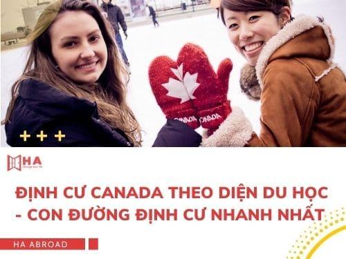 Định cư Canada theo diện du học - Con đường định cư nhanh nhất