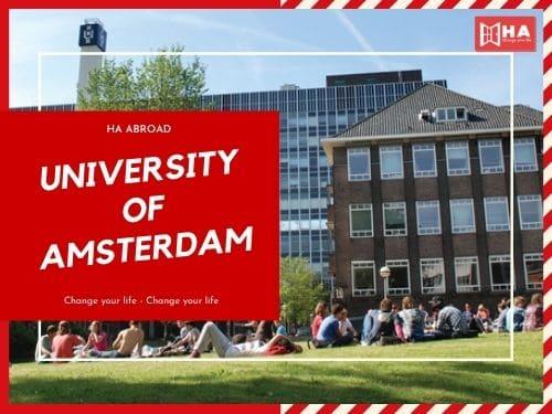 Trường đại học Amsterdam thuộc trường đại học TOP đầu Hà Lan