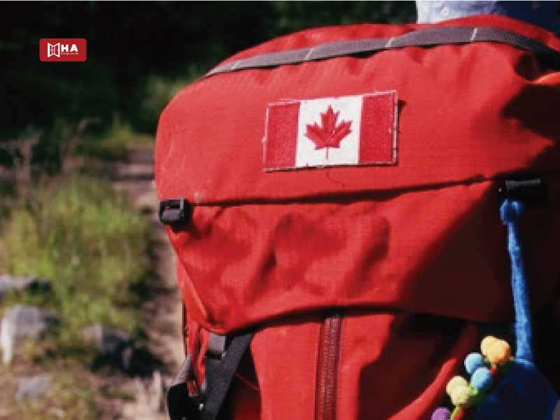 Gắn / Thêu quốc kỳ trên balo du lịch