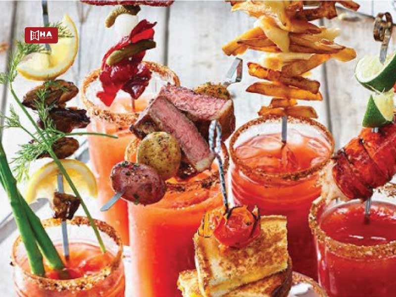 Uống rất nhiều Bloody Caesars