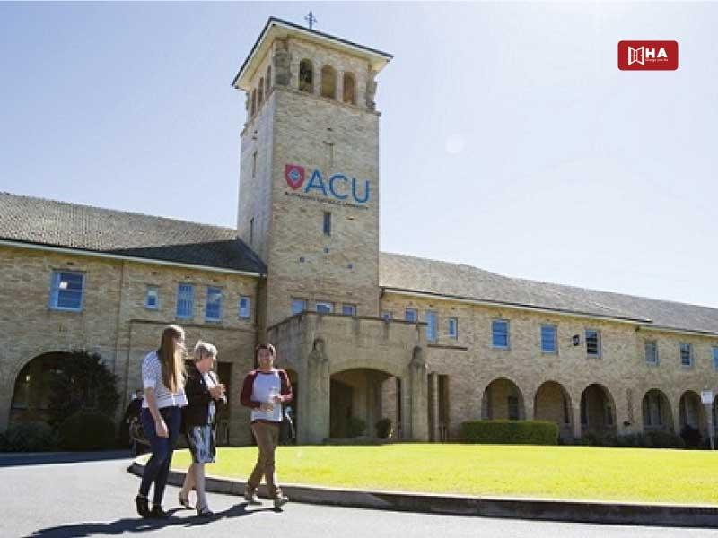 Trường Australian Catholic University (ACU) các trường đại học ở sydney úc