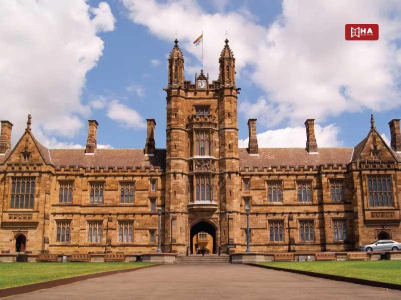 Trường University of Sydney các trường đại học ở sydney úc