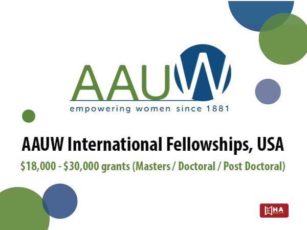 loại học bổng mỹ Hiệp hội Phụ nữ Đại học Hoa Kỳ