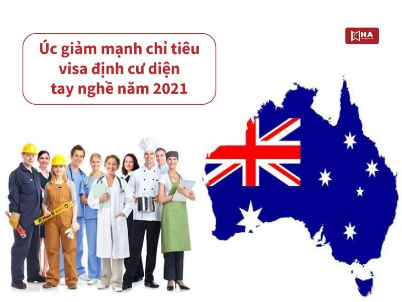 Úc giảm mạnh chỉ tiêu visa định cư diện tay nghề năm 2021