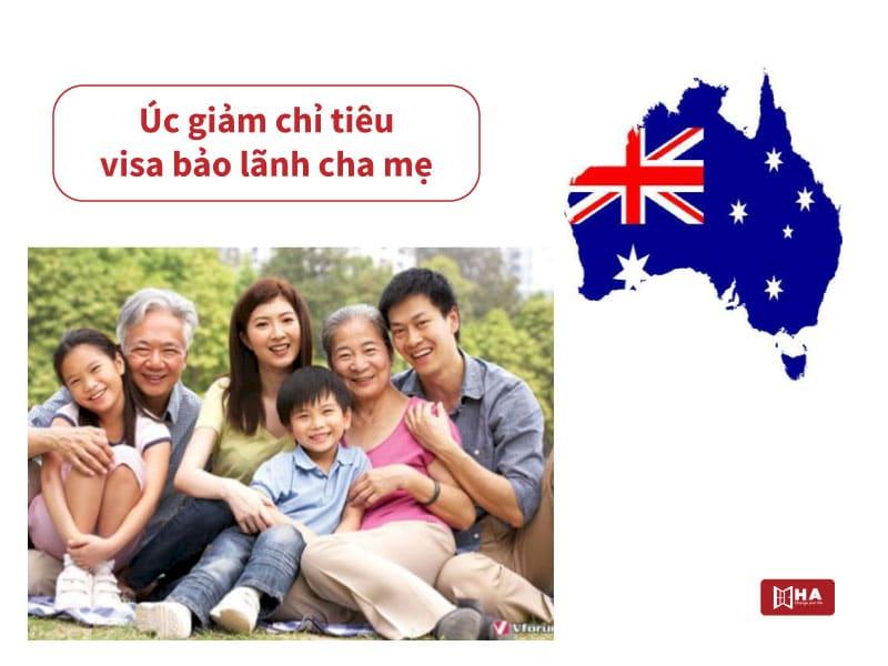 Giảm chỉ tiêu visa Úc bảo lãnh cha mẹ