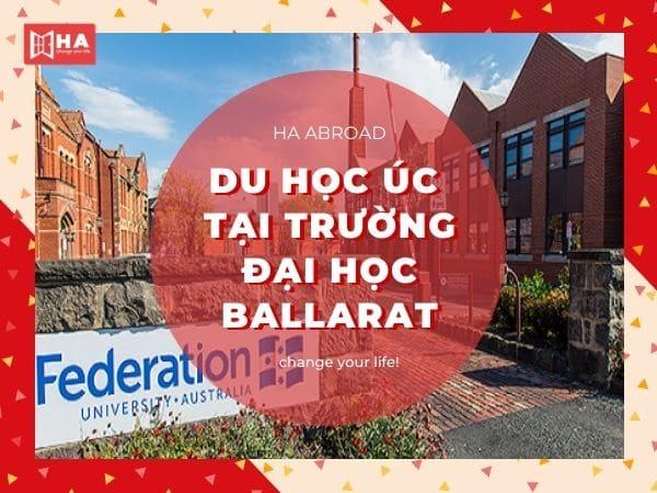 Du học Úc tại trường đại học Ballarat