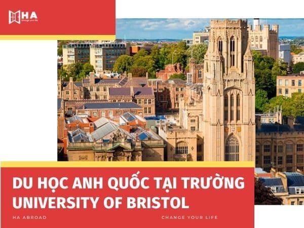 Du học Anh Quốc tại trường đại học Bristol
