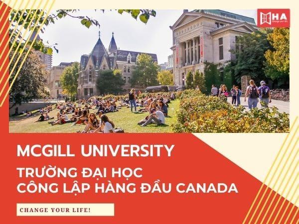 Đại học McGill - Trường công lập hàng đầu Canada