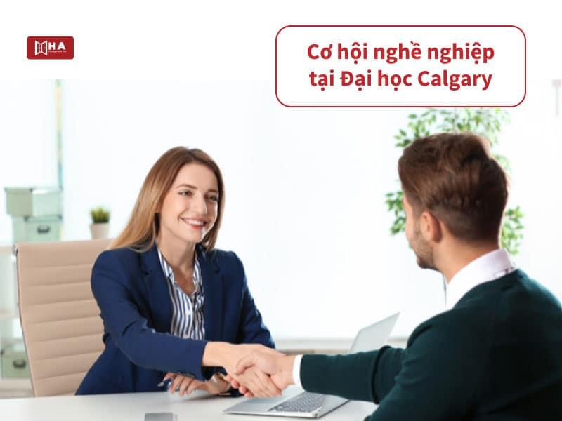 Cơ hội nghề nghiệp hấp dẫn sau khi tốt nghiệp Calgary