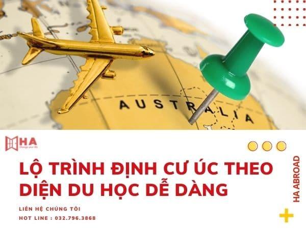 Lộ trình định cư Úc theo diện du học dễ dàng