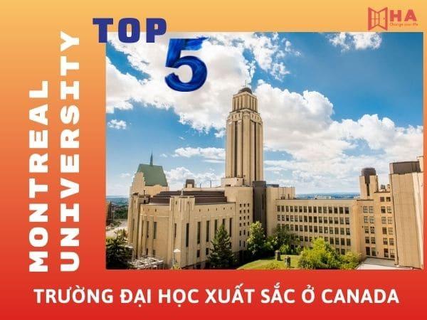 Đại học Montreal - TOP 5 trường đại học xuất sắc ở Canada