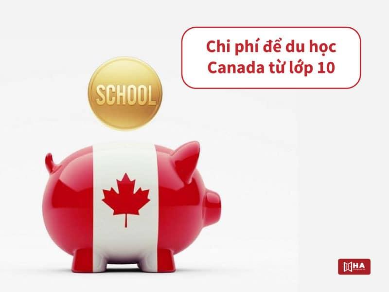 Chi phí du học Canada từ lớp 10