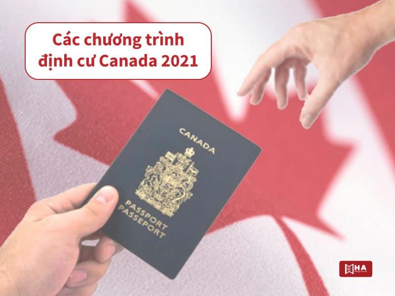 Các chương trình định cư Canada hiện nay