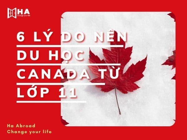 Bật mí 6 lý do nên du học Canada từ lớp 11