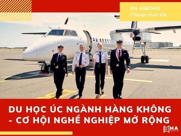 Du học Úc ngành hàng không - Cơ hội nghề nghiệp mở rộng