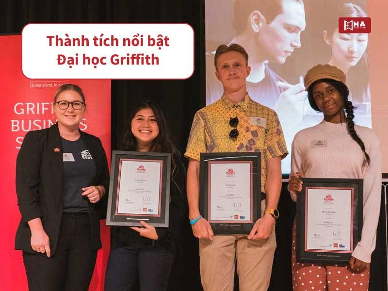 Thành tích nổi bật đại học Griffith Úc